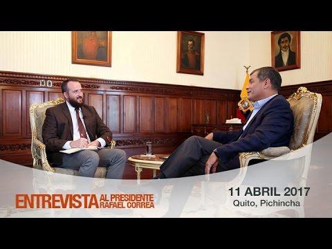 Entrevista del Presidente Rafael Correa con The Wall Street Journal 10/04/2017