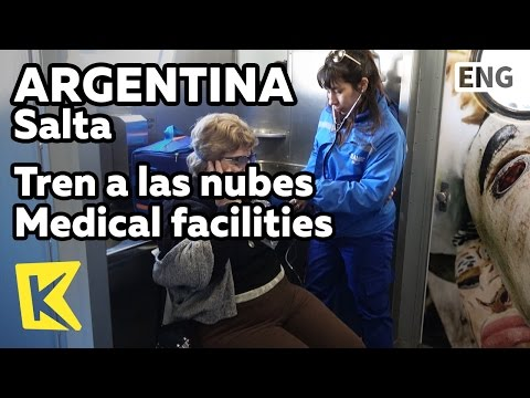 【K】Argentina Travel-Salta[아르헨티나 여행-살타]구름 열차의 의료시설/Tren a las nubes/Medical facilities