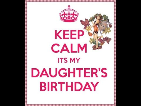HAPPY BIRTHDAY DAUGHTER E Card Category Birthday