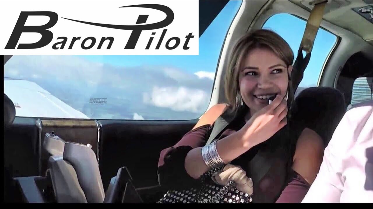 Turbulence Makes Passenger Nervous In Private Airplane