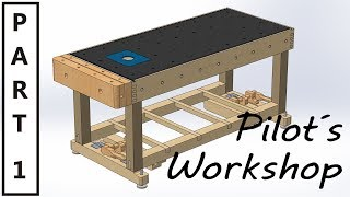This is the first video in a longer series about making a versatile Workbench/Workstation. This project is especially awesome for