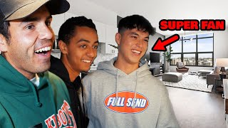 Surprising Our Biggest Fan With A New House!