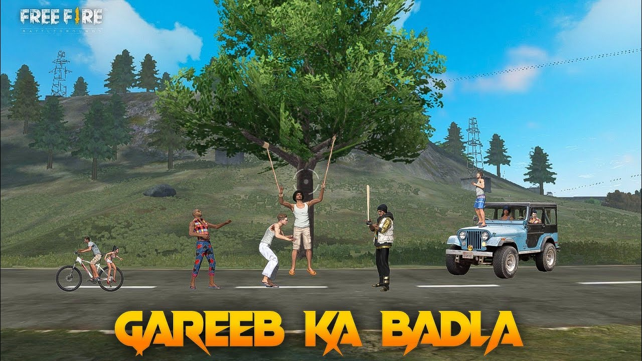 Gareeb Ka badla [ गरीब का बदला ] Free fire Short Emotional Story in Hindi ||  free fire story