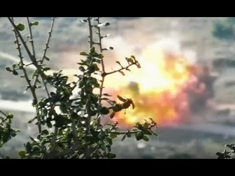 Kurdish YPG attacks on Turkish backed jihadists in Afrin region, Syria
