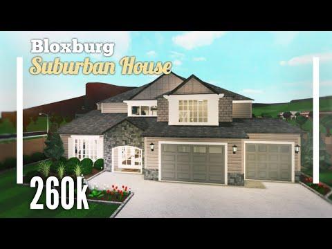 (260k)-traditional-suburban-family-house-speedbuild---bloxburg-roblox