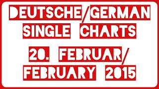 Top 40 Deutsche/German Single Charts | 27. Februar/February 2015