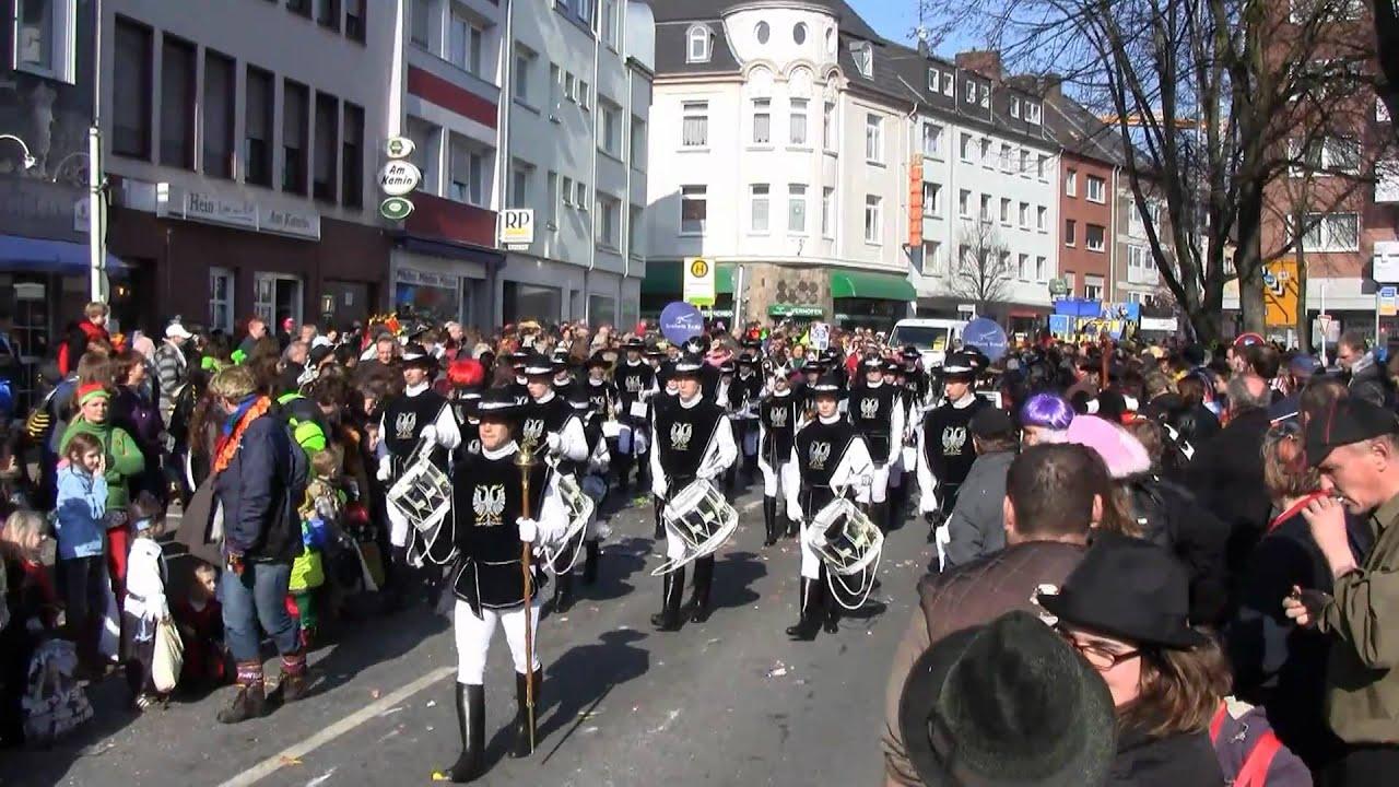 Veilchendienstagszug Mönchengladbach