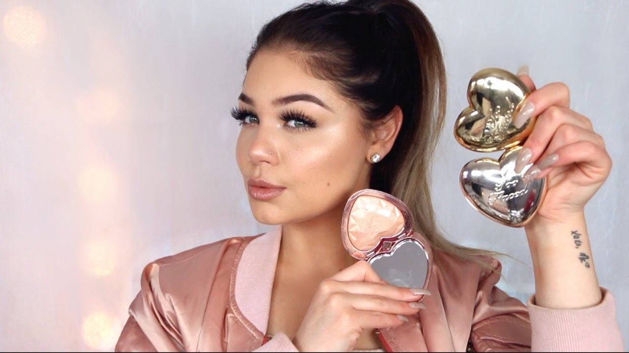 New Too Faced Love Light Highlighters Review Amp First