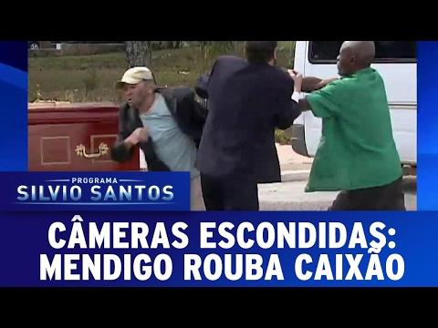 Mendigo Rouba Caixão | Câmeras Escondidas (12/02/17)