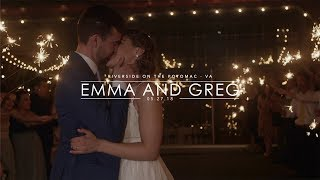WHOLE HEART STUDIOS WEDDING FILM | EMMA AND GREG | RIVERSIDE ON THE POTOMAC