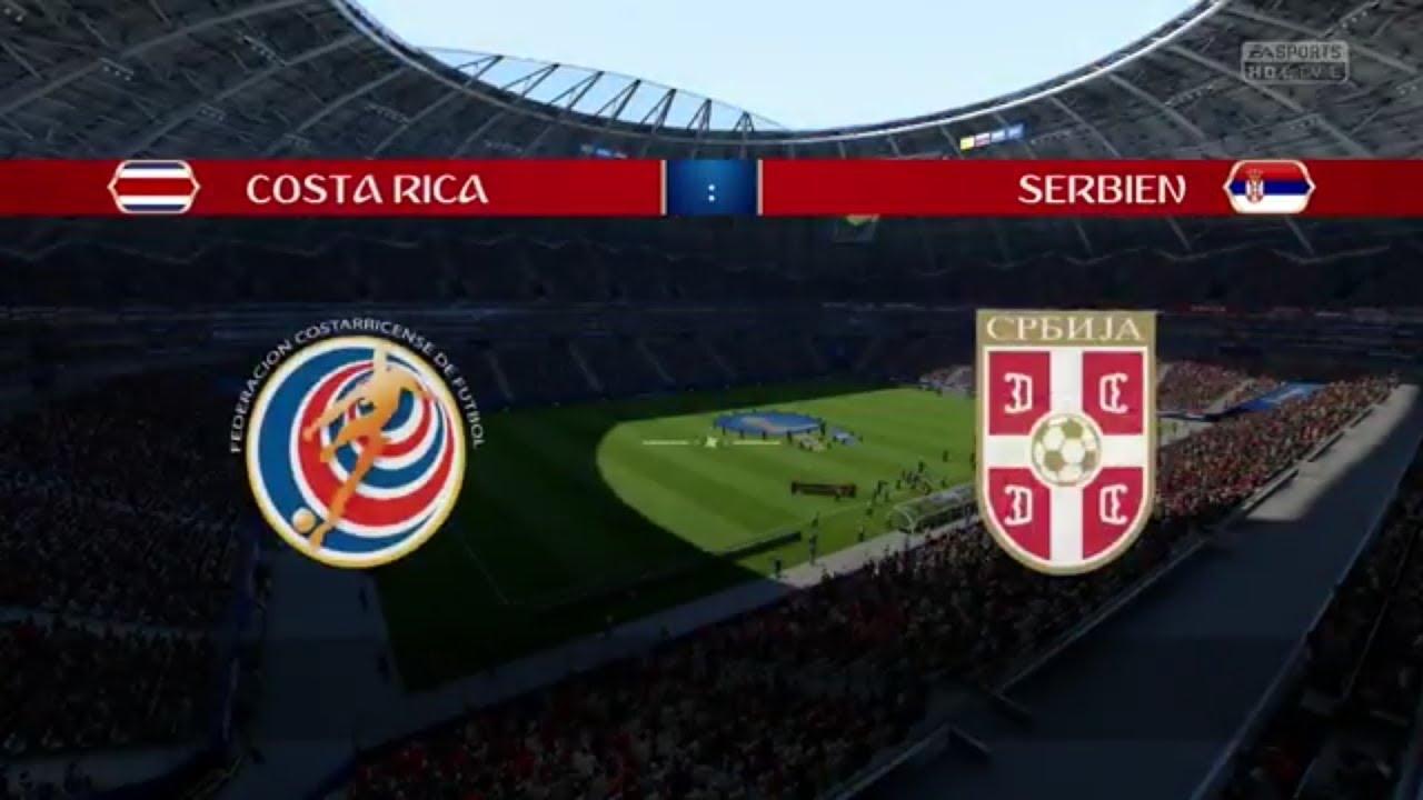 Prognose Costa Rica Serbien
