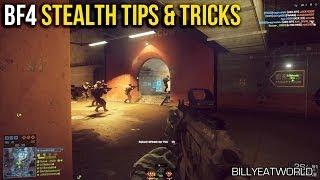 Battlefield 4 (PS4) - Stealth Play Style Tips & Tricks (BF4 Gameplay)