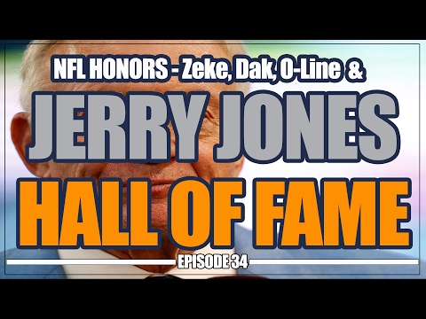 Jerry Jones Voted into Hall of Fame and NFL Honors Awards