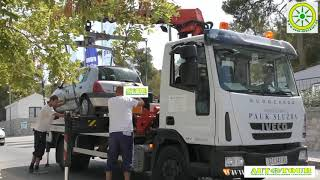 нарушение правил парковки в Хорватии