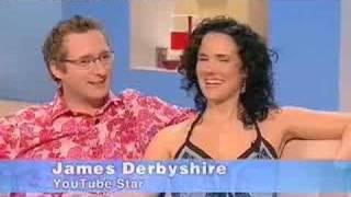James & Julia on Richard & Judy 13th Feb(www.allbarlove.com)