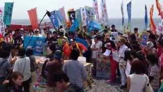 沼津千本公園でフジテレビ「バイキング」のロケがやっていました。 サン...