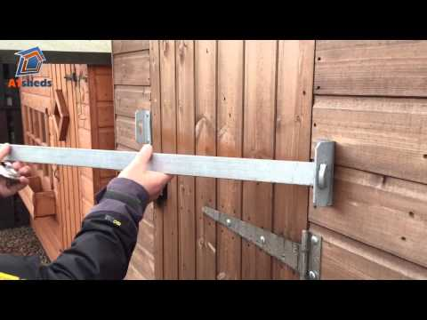 a1-shedbar---how-to-protect-your-shed-with-a-door-security-bar