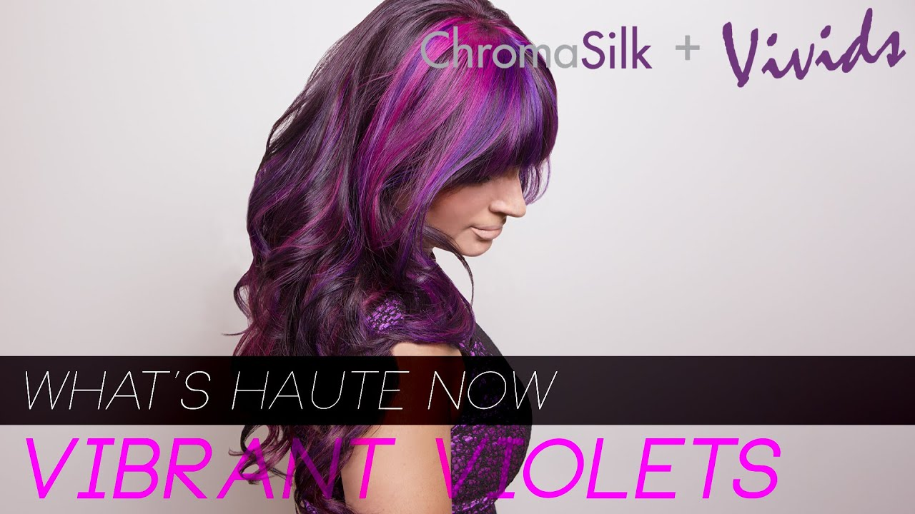 Vibrant Ombre Hair Color