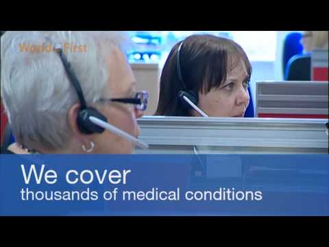 Choosing medical cover. The World First guide to travel insurance.
