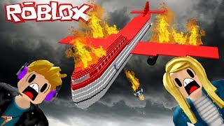 I'll Set You On Fire - Roblox Survive A Plane Crash On Fire