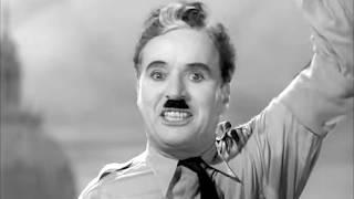 """""""Вибачте. Я не хочу бути імператором"""".Промова Чарлі Чапліна. Фільм """"Великий диктатор"""", 1940 рік."""