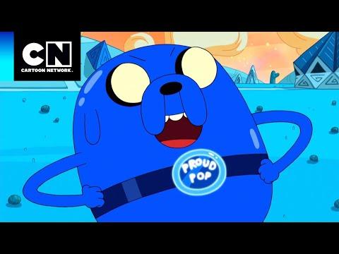 TOP 5: Momentos Divertidos de Jake | Hora de Aventura | Cartoon Network