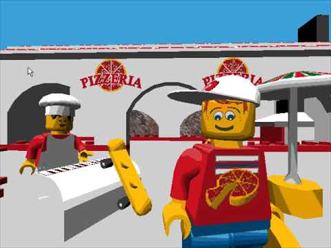 LEGO Island - Pizza Delivery (Full Version)
