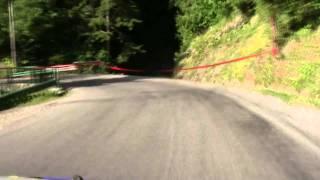 Rallye du Mont Blanc 2011 : La côte d'Arbroz
