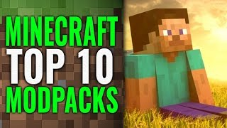 Minecraft Top 10 Curse Mod Packs 2015