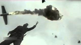 Hand Throw Grenade Blow Up a Battle Plane - Crazy!!!