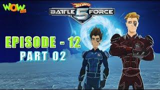 Motu Patlu presents Hot Wheels Battle Force 5 - Cage Match - Episode 12-P2 - in Hindi