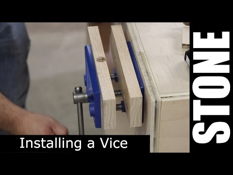 Woodworking Assembly Table Vise - Install