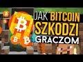 Jak kopanie bitcoinów SZKODZI graczom?