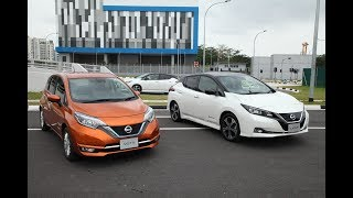 Nissan Futures: New Nissan LEAF test drives