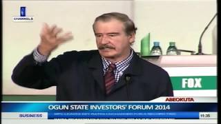 21st Century Africa Will Drive World Economy- Vincente Fox Pt.10