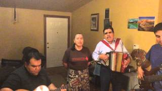 Blanco family just jamming norteñas blanco style.