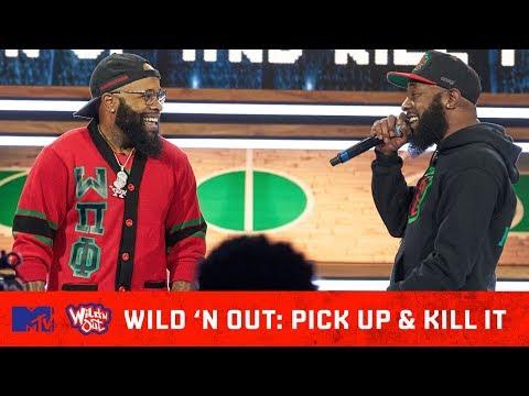 Chico Bean Goes Hood On Karlous Miller ft. Goodie Mob🔥   Wild 'N Out   #PickUpAndKillIt