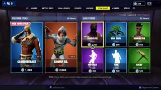 NEW AVIATION SKINS: Fortnite Item Shop