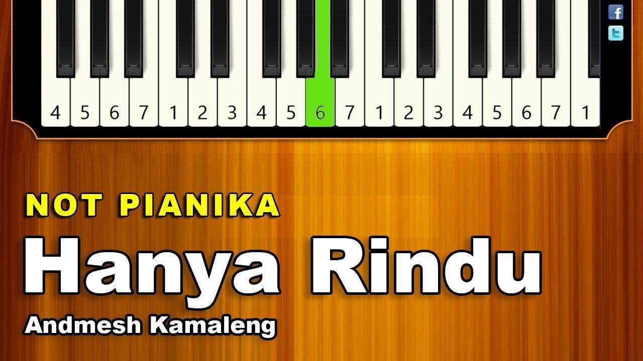 Not Pianika Hanya Rindu Andmesh Kamaleng Youtube