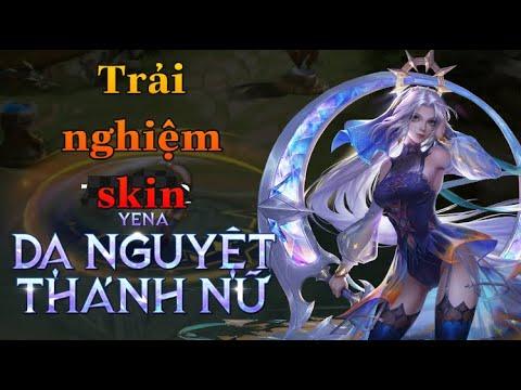 Trải nghiệm skin yena Dạ nguyệt thánh nữ chỉ với 69 QH | Yena mùa 16 | Choàn Gaming