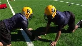 Football Drills & Skills : Full Contact Football Camp Activities