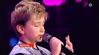 Nikolas || Lewis Capaldi - Someone You Loved || The Voice Kids 2020 (Germany)