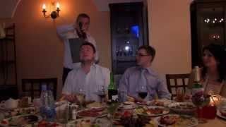 Свадебный волшебный микрофон