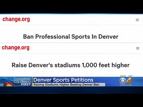 BEARDO - Petition to Ban Professional Sports Teams in Denver Goes Viral
