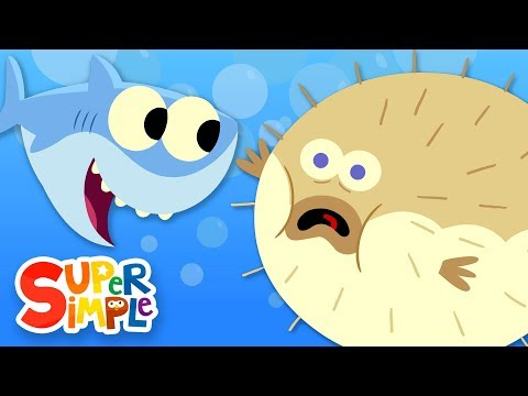 10 Little Fishies  Featuring Ba Shark!  Kids Songs  Super Simple Songs