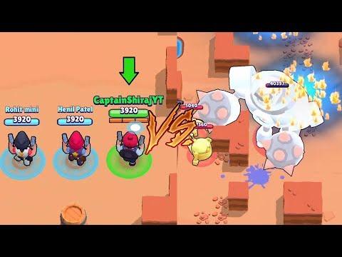 Triple Colt VS Enraged Boss In Boss Fight   Brawl Stars Boss Fight Troll