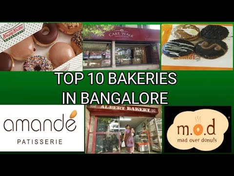 TOP 10 BAKERIES IN BANGALORE