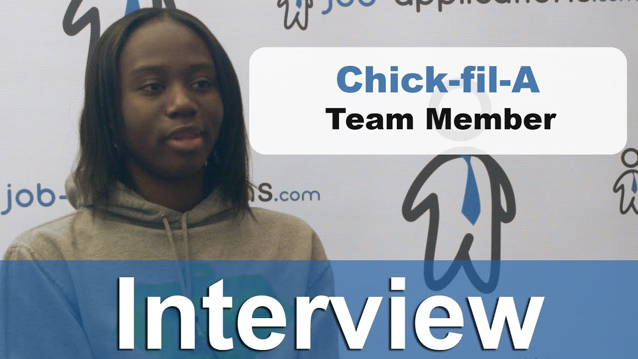 Chick Fil A Interview Team Member Youtube