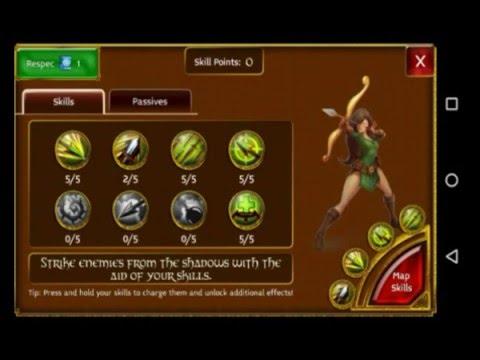 Arcane Legends - My Build Rogue LVL 46.