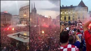 Croatian football team back home Worldc Cup 2018